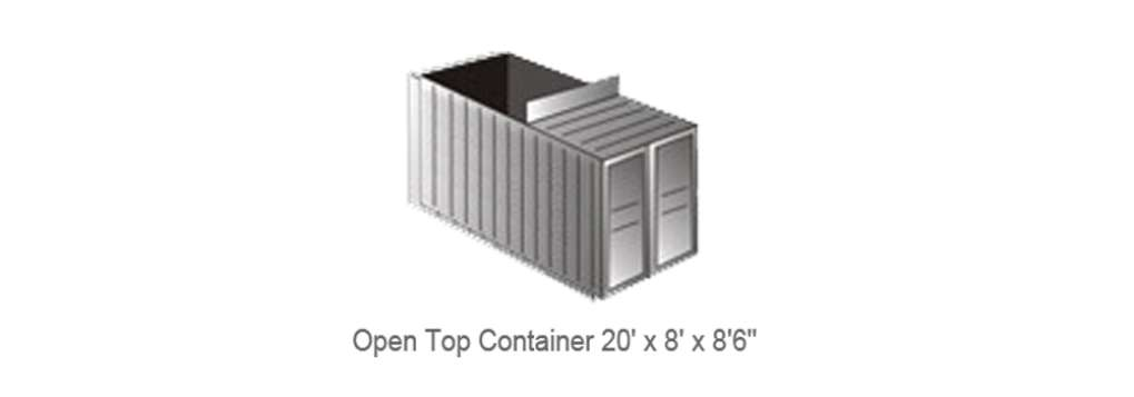 20' Full Height Container