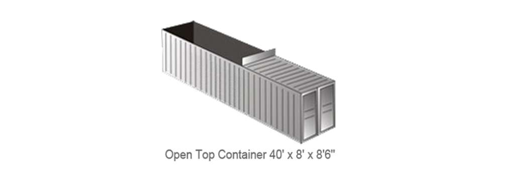 40' Full Height Container