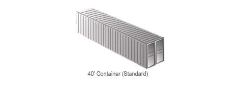 40' Container (Standard)